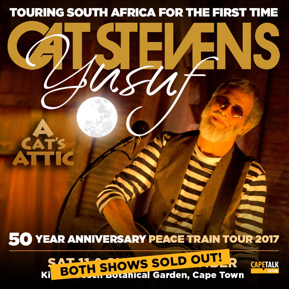 Both Yusuf/ Cat Stevens Cape Concerts Sell Out – iloveza.com