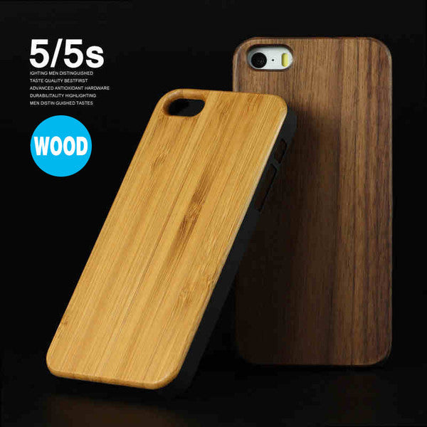 True Wood Case for iPhone 4s, 5s, 6 and 6 Plus - iloveza.com - 1