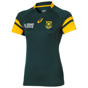 Springbok Home 2015 RWC Replica Jersey (Ladies) - iloveza.com
