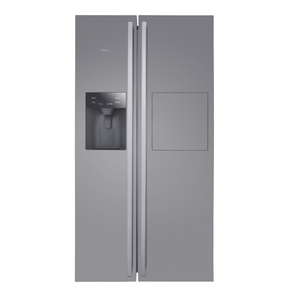 AEG - 585l Side by Side Fridge\Freezer with Water Dispenser and Mini Bar - iloveza.com