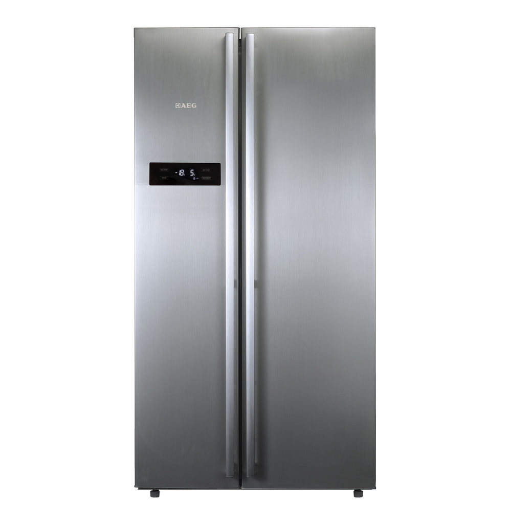 AEG - 602l Side by Side Fridge Freezer - iloveza.com