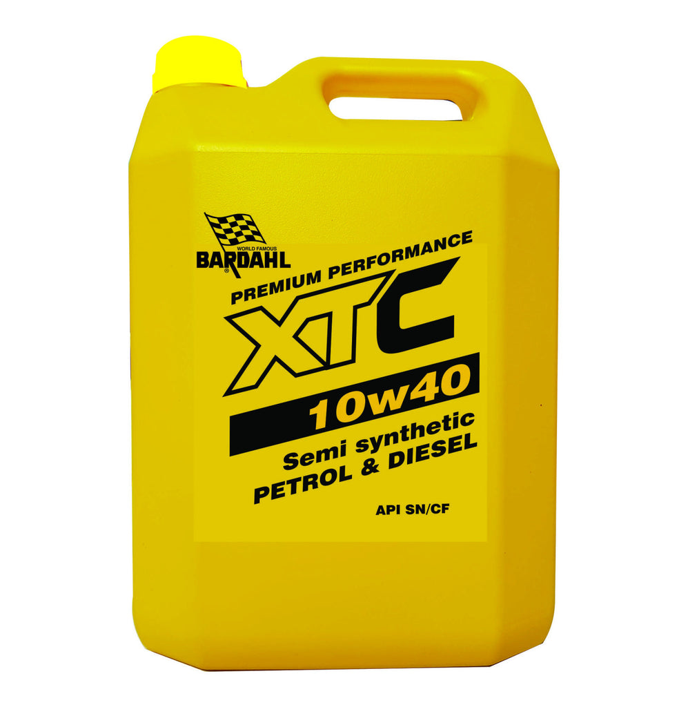 Bardahl - 5L 10W-40 Semi Synthetic Motor Oil