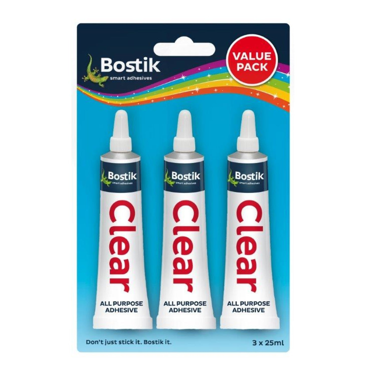 Bostik - Clear Adhesive Glue Value Pack - iloveza.com