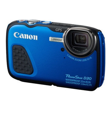 Canon - D30 Powershot Waterproof Camera - iloveza.com