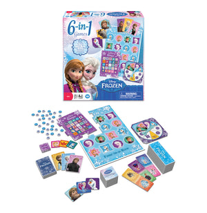 Disney - Frozen 6 in 1 Game - iloveza.com