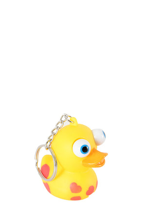 Duck with Popping Eyes Keyring - iloveza.com