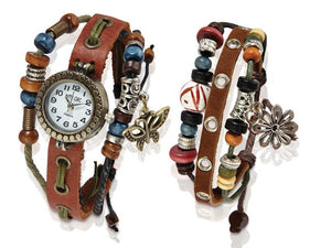 Hippie Chic Boho Watch Set - iloveza.com