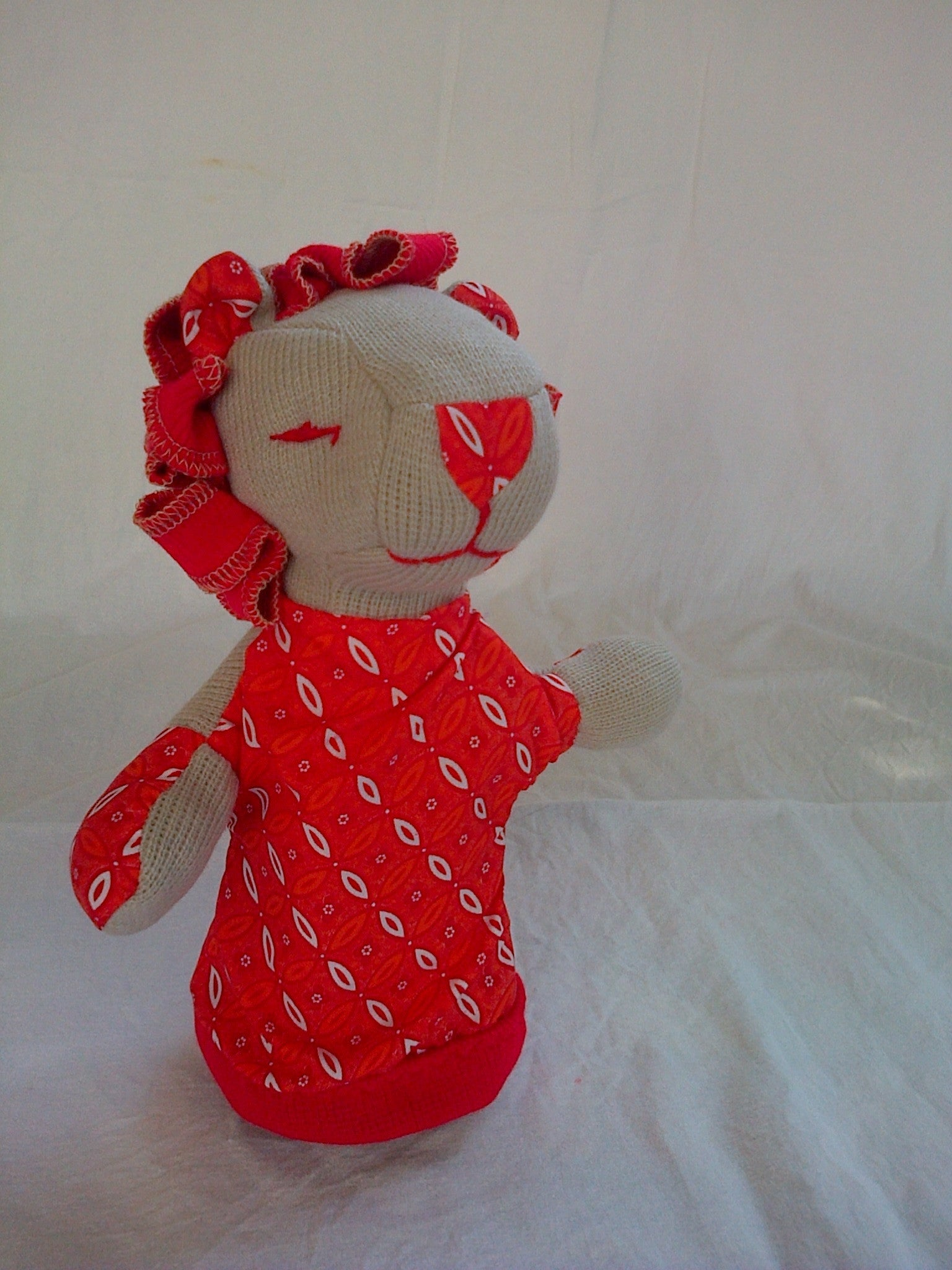 SA Softies - Lion Puppet - iloveza.com - 1