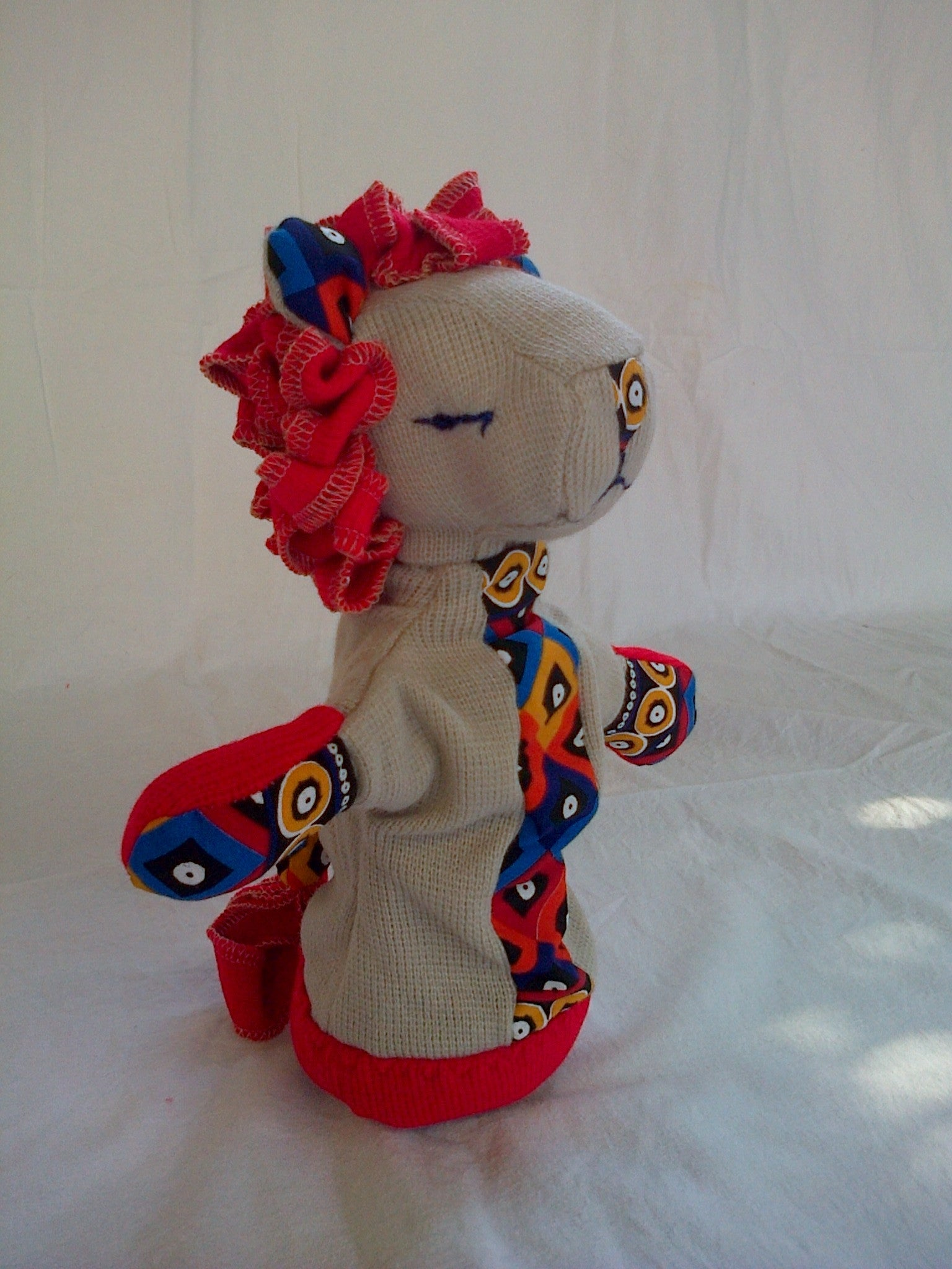 SA Softies - Lion Puppet - iloveza.com - 3