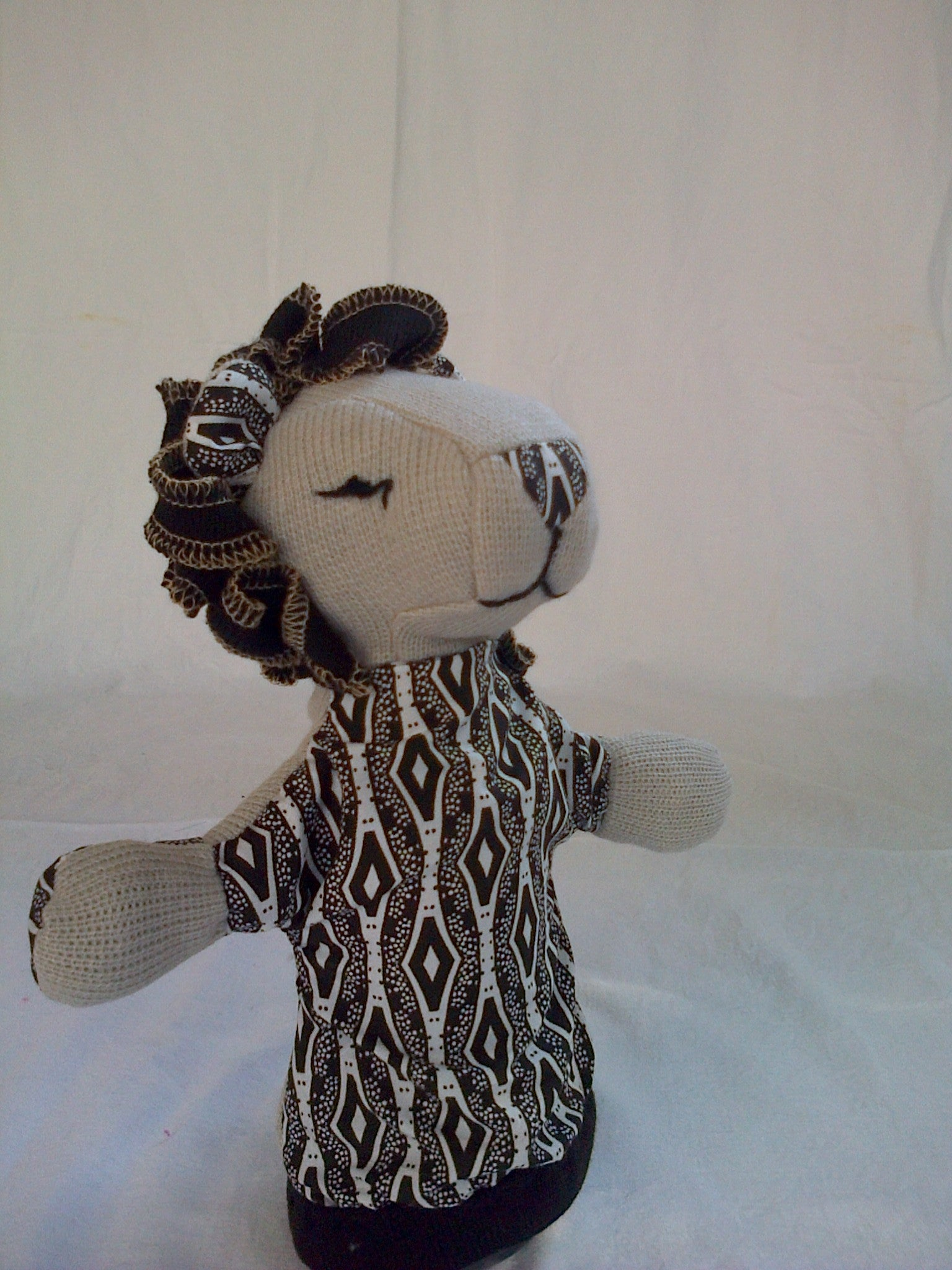 SA Softies - Lion Puppet - iloveza.com - 5