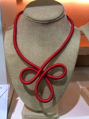 African Necklace (Red) - iloveza.com