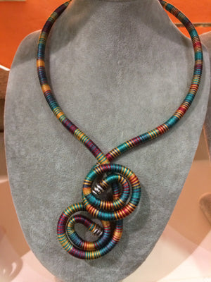 African Necklace (Multi-Coloured) - iloveza.com
