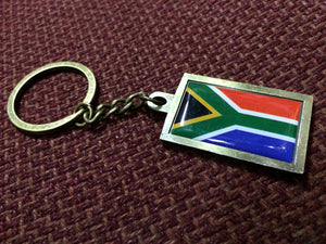 African Key Ring (South African Flag) - iloveza.com