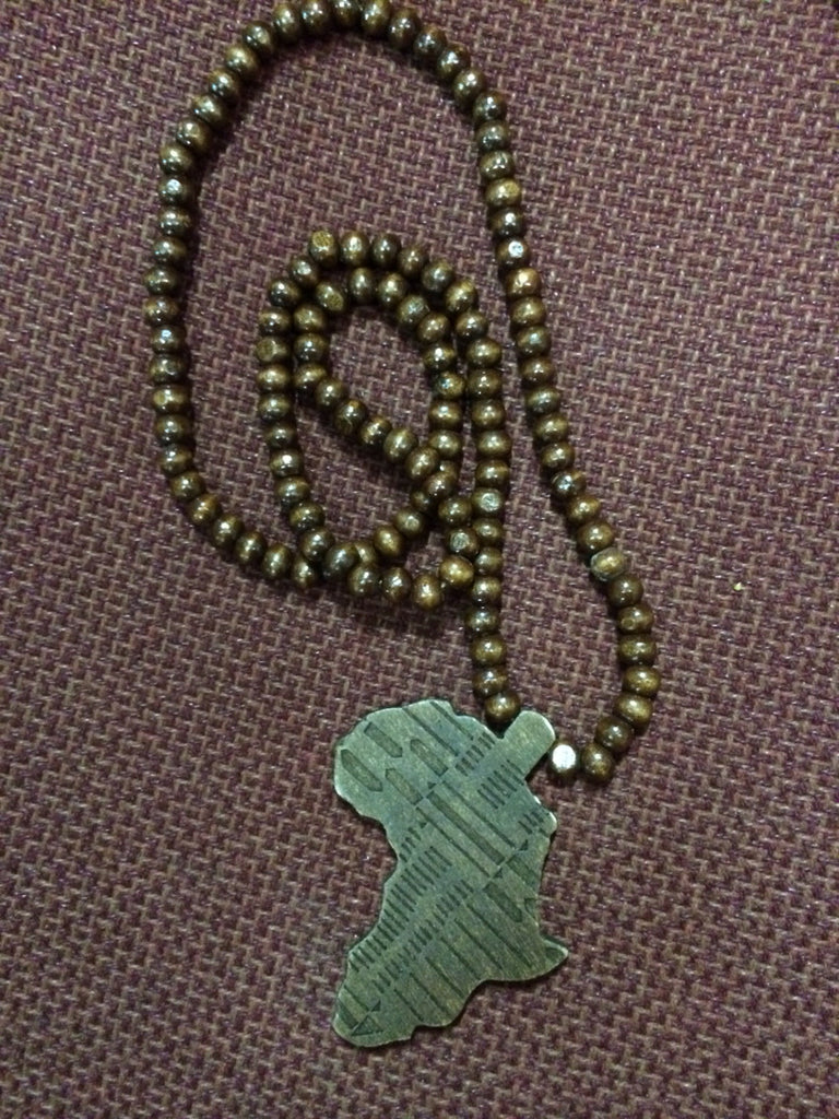 Africa Piece (Dark Brown) - iloveza.com