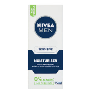 NIVEA Men Sensitive Moisturiser (1 x 75ml) - iloveza.com