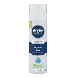 NIVEA Men Shaving Gel Sensitive (1 x 200ml) - iloveza.com