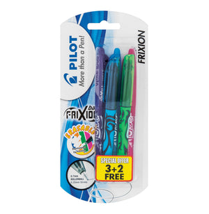 Pilot - Frixion Ballpoint Pen Assorted 3 pack (Purple, Blue, Green) - iloveza.com