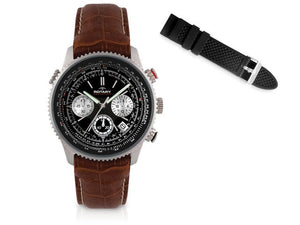 Rotary Gents' Chronograph Watch With Two Straps - iloveza.com