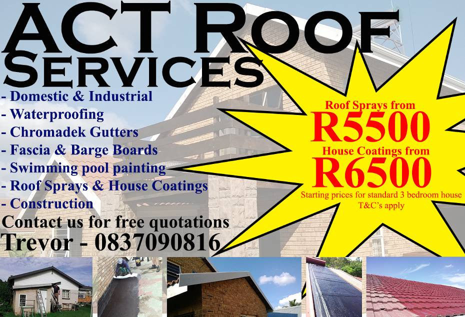 ACT Roof Services & Pool Epoxy - iloveza.com - 1