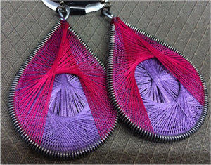 African Earrings (Pink) - iloveza.com