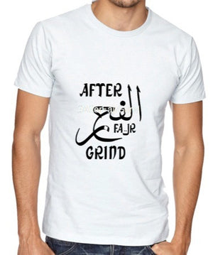 Fajr Apparel - After Fajr Grind T-Shirt - iloveza.com