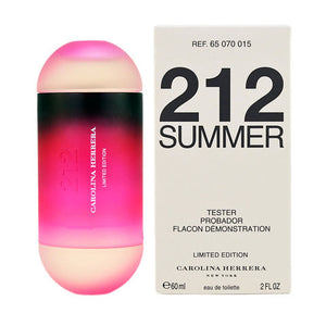 Carolina Herrera - 212 Summer Limited Edition EDT (60 ml) - Tester - iloveza.com