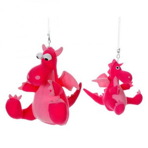 Intle Design - Dragon Spring Toy (Pink) - iloveza.com