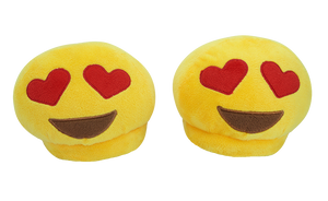 Emoji Slippers - Heart Eyes - iloveza.com