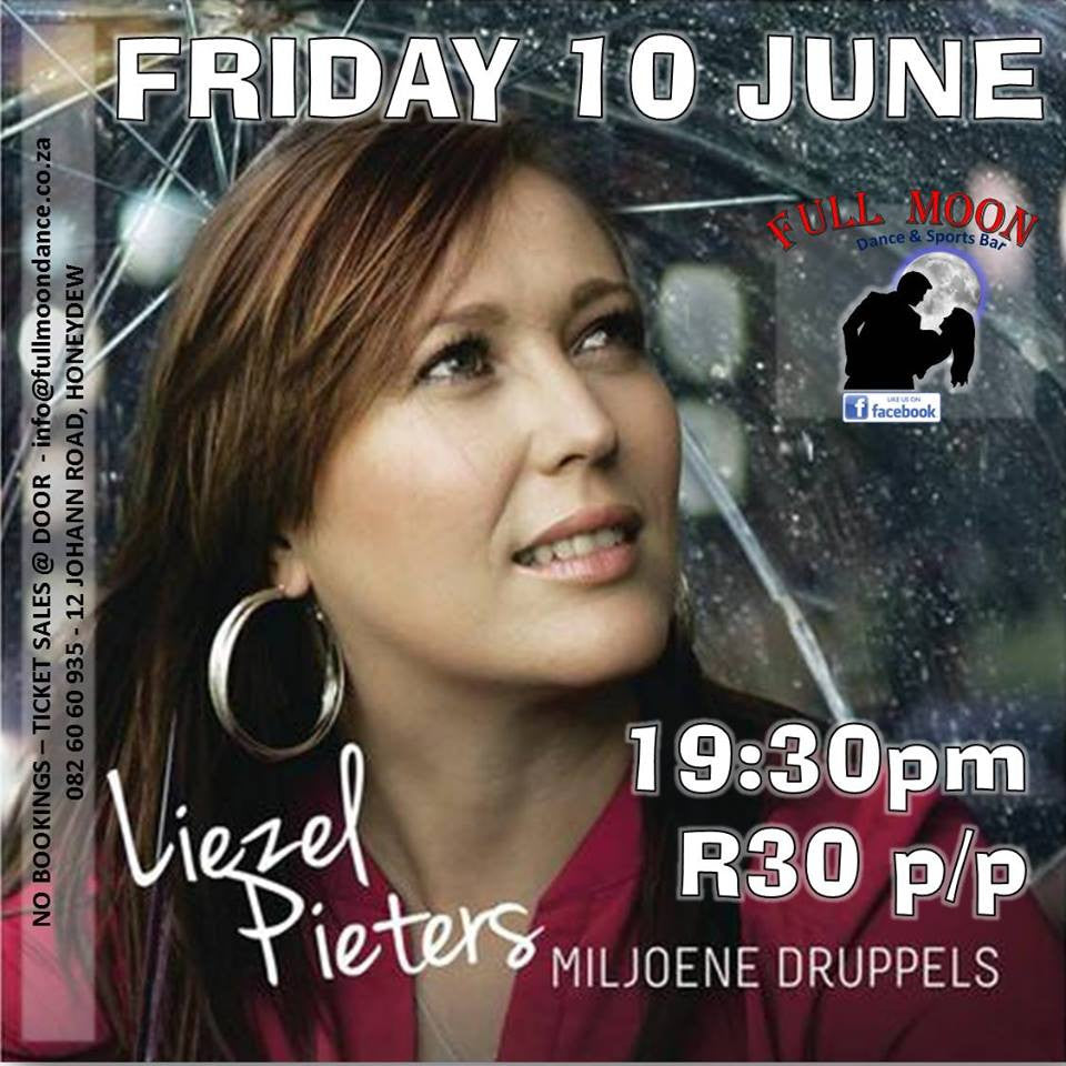 Liezel Pieters at Full Moon Dance & Sports Bar - 10 June 2016 - iloveza.com