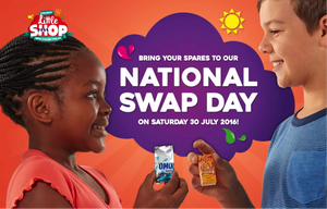 Events - 30 July 2016 - Checkers Little Shop National Swap Day - iloveza.com