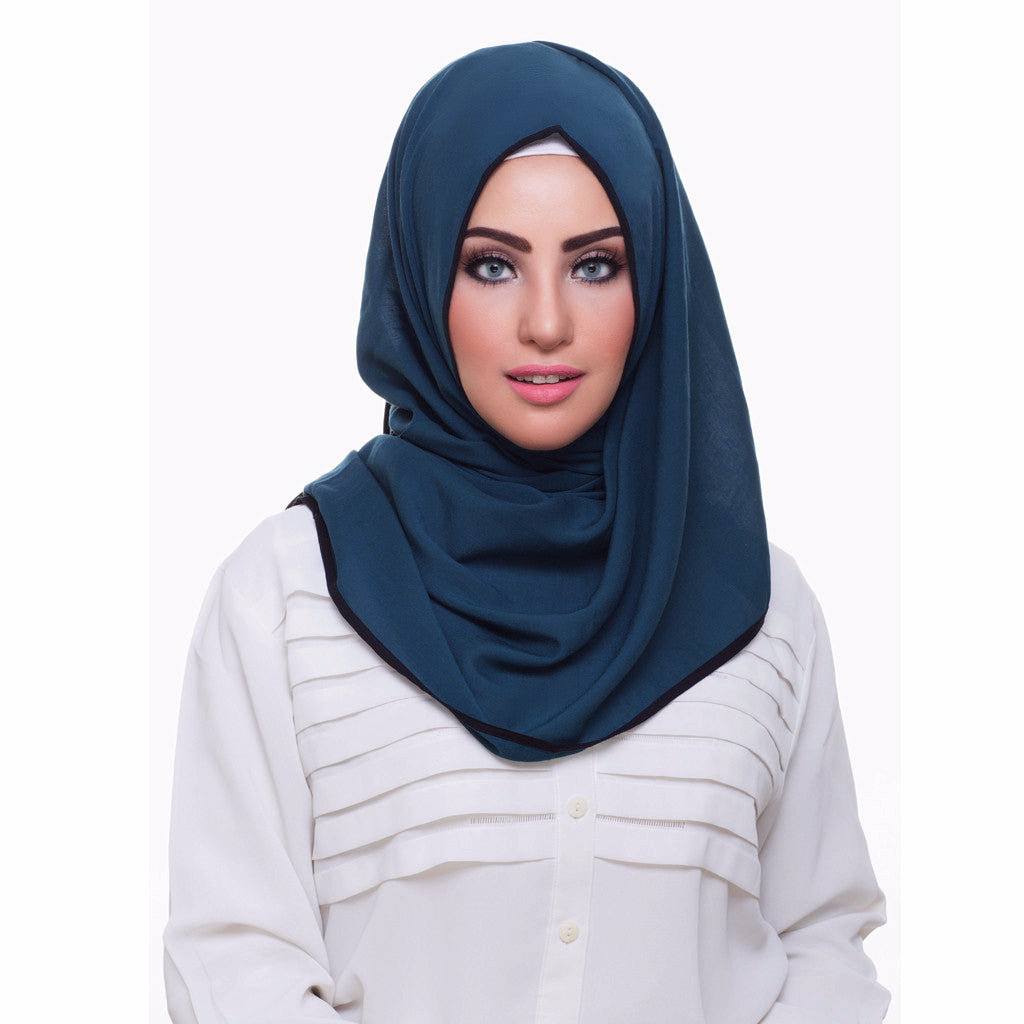 Pearl Daisy - Ocean Bordered Weightless Hi-Lo Hoojab - iloveza.com - 1