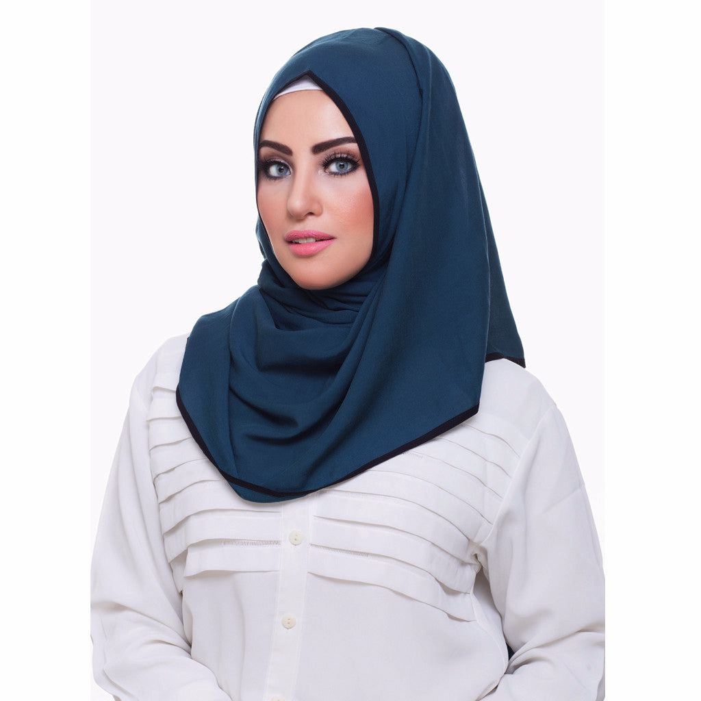 Pearl Daisy - Ocean Bordered Weightless Hi-Lo Hoojab - iloveza.com - 2
