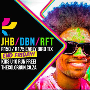 Events - 08 July 2016 - The Color Run SA (Early Bird Tix) - iloveza.com