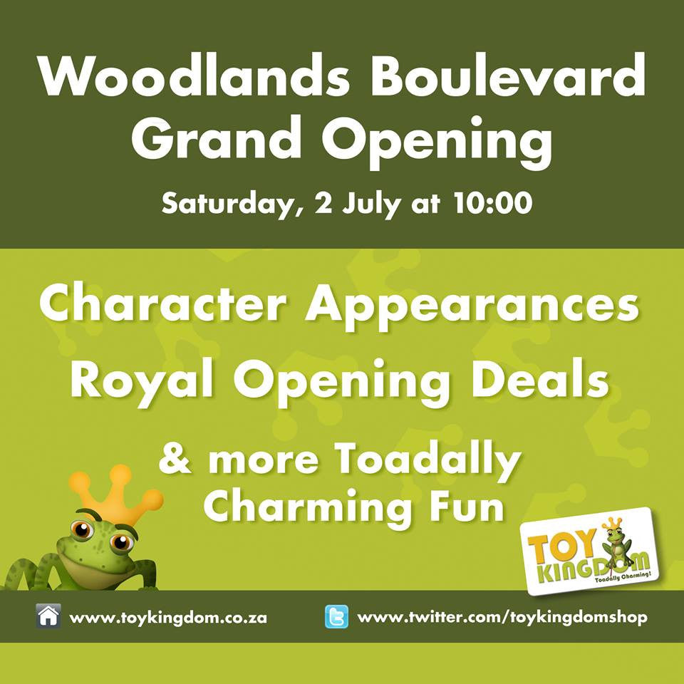 Events - 02 July 2016 - Toy Kingdom Woodlands Boulevard Grand Opening - iloveza.com
