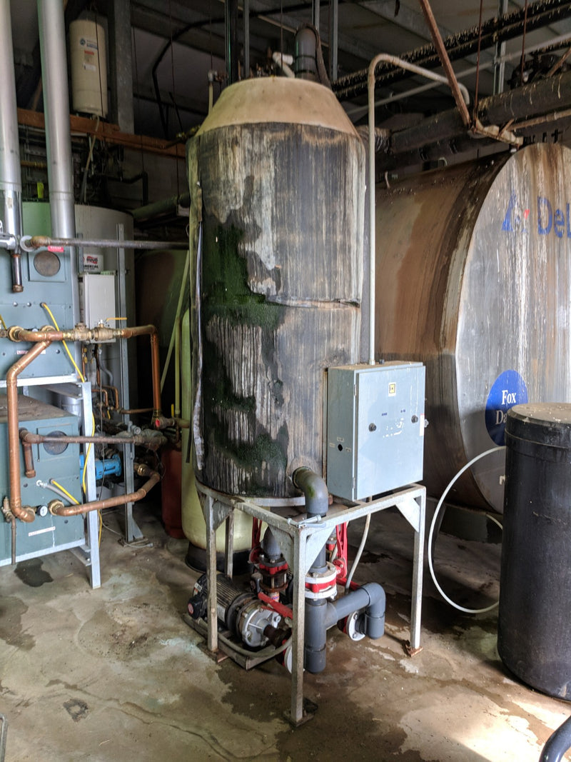 Listing #DD1667 - Glycol Tank and Pumps