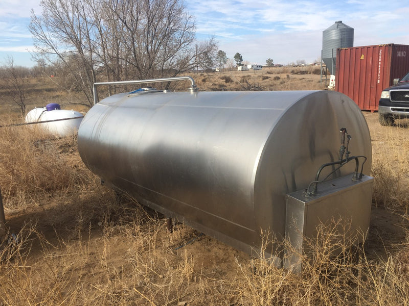 #DD1966 - 1,000 gallon Milk Transport Tank