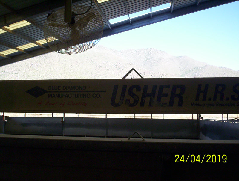 "#DD1787 - Blue Diamond ""Usher"" 45' Crowd Gate System"