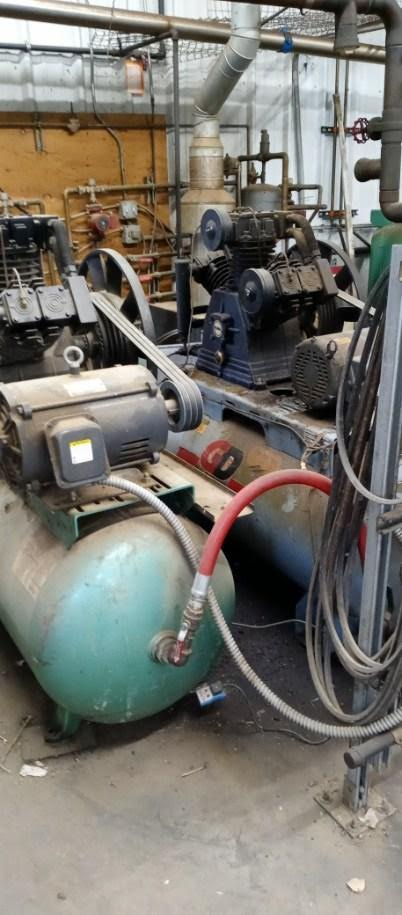 #DD1938 - Puma 15 hp Air Compressor