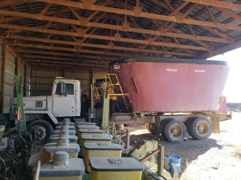 #DD1512 - Screw Press / Manure Separator