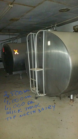 Listing #1516 - Mueller Bulk Tanks w/ Compressors and Condensers (multiple sizes)