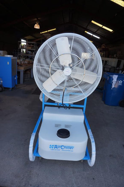 "Listing #DD1204 - 30"" Oscillating High Pressure Misting Fan"