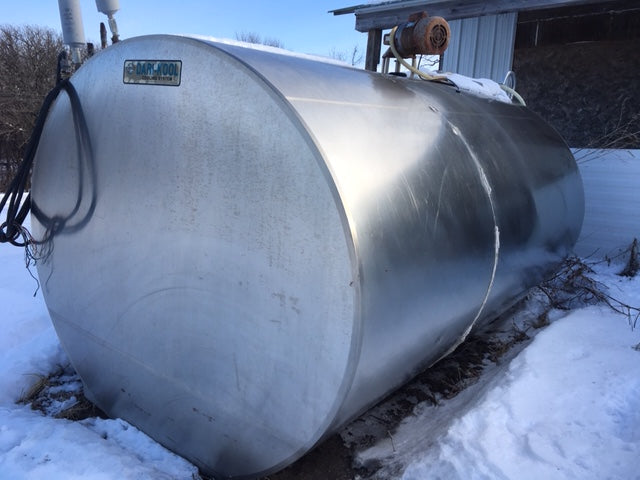 Listing #DD1321 - PRICE REDUCED Horizontal Bulk Tank