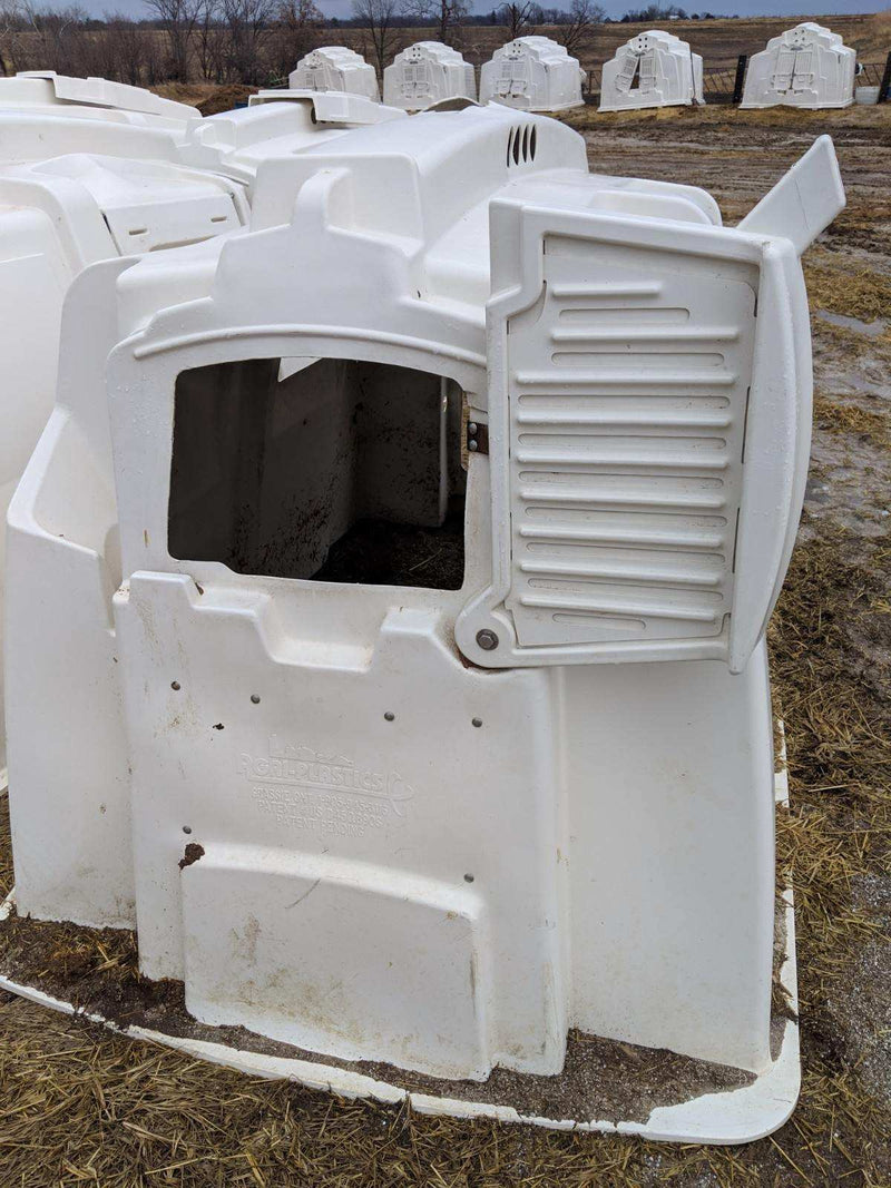 #DD1883 - Agriplastics XL Calf Hutches