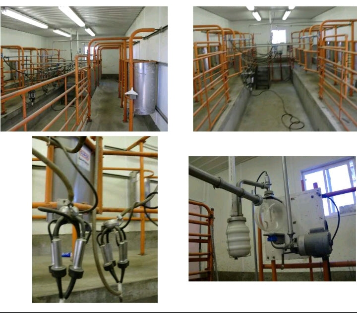 #DD1744 - Surge Double 4 Complete Milking Parlor