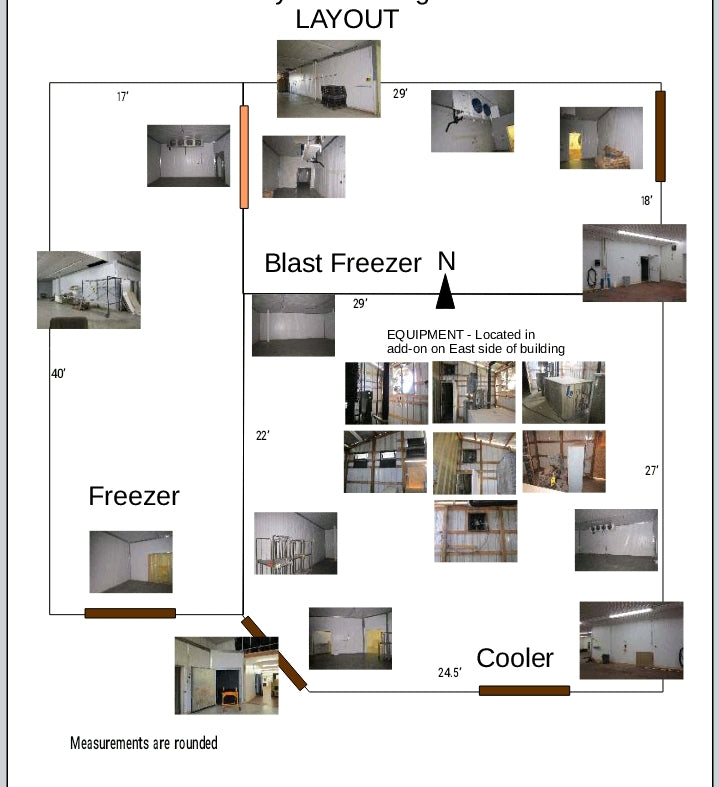 #DD1776 - Walk in Freezer / Cooler Combo System
