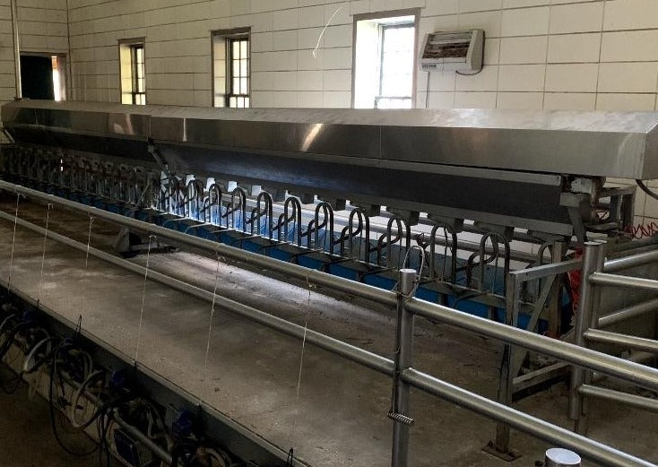 #DD1912 - DeLaval Rapid Exit 24 Goat and Sheep Parlor System