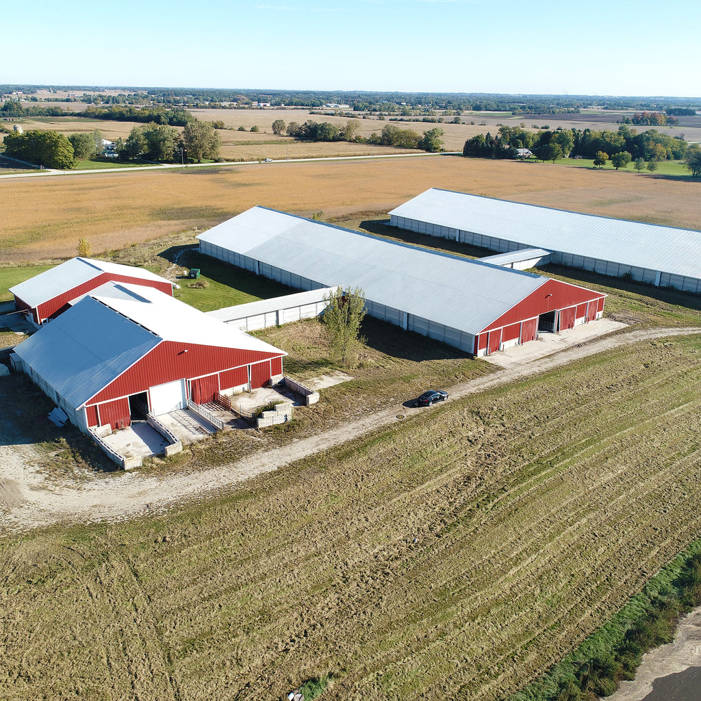 COURT ORDERED: COLUMBIA, DODGE, AND RACINE COUNTY, WI – MULTI-TRACT DAIRY OPERATIONS, LAND AND HOBBY FARM