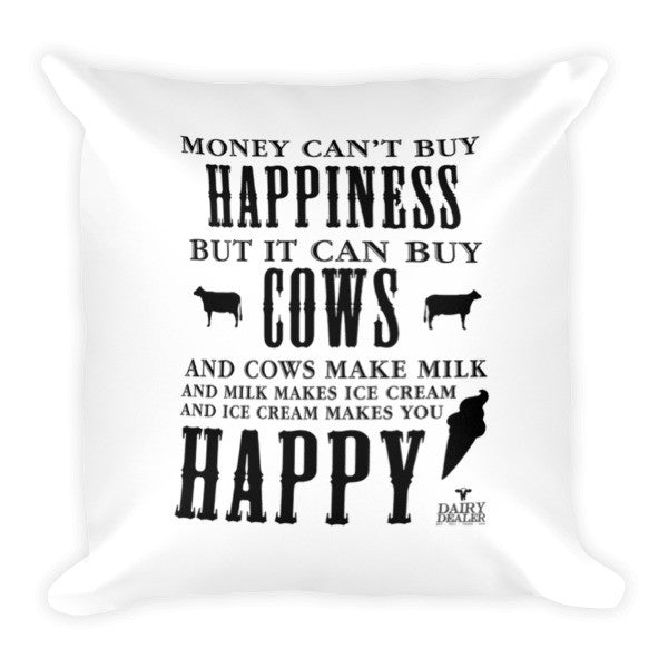 Happiness, Cows and Ice Cream Tote bags