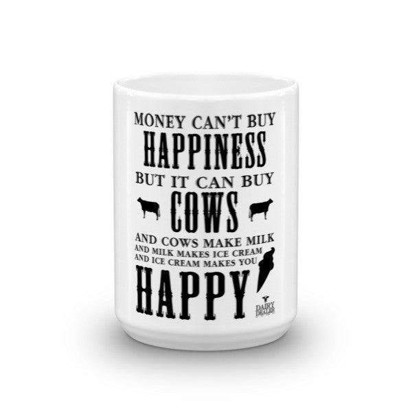 Happiness, Cows and Ice Cream Mugs