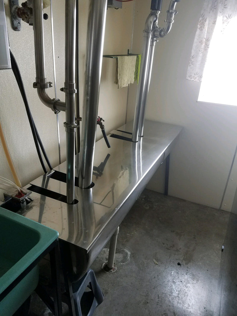 Listing #DD1616 - Stainless Washer Sink